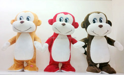 Custom 2016 plush monkey toys hot sale lovely monkey
