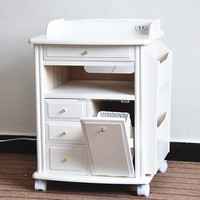 Country Style Rotating Dressing Table