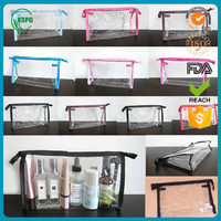 Wholesale clear cheap cosmetic bag