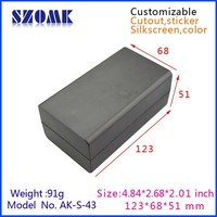 NEW type & popular plastic enclosure for electronic device