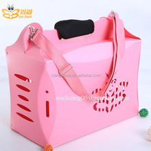 plastic colors pet products dog carrier for sale