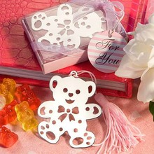 Lovable Teddy Bear Design Bookmarks baby shower party gift