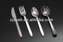 alibaba hot selling silver coated decorative plastic cutlery