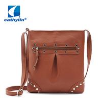 2015 Free Shipping Cathylin Hot New Fashion Women's bag Designer Leather Handbags Wholesale Factory Fashion Lady Messenger Bag
