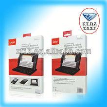 High quality swivel slim wireless for ipad bluetooth keyboard case