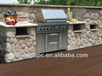 2013 hot sale adjustable anti-rot wood plastic composite decking support materials HLH-006 150*34MM