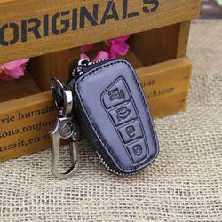 Euro style leather car key case remote car key pouch car key remote cases