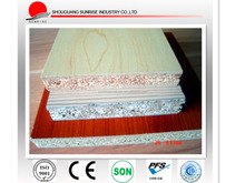 manufacture supply 1220*2440*9mm melamine particle board