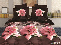 Romantic cheap wholesale high quality 100% polyester duvet cover