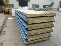fireproof rockwool sandwich panel roof panel price