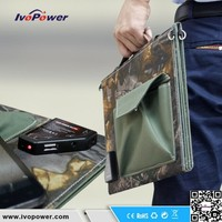 Factory wholesale foldable solar charger 40W portable solar dry cell battery