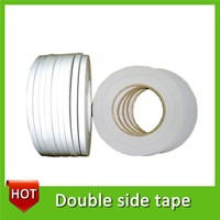 Velcro with double sided tape