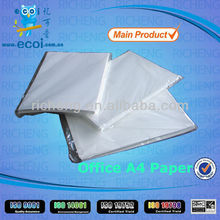Superior value for A4 copier paper,top office paper A4 70g supply in China, with ISO9001&ISO14001