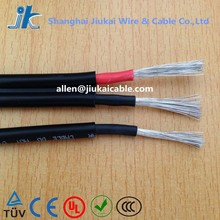 TUV approved PV1-F Solar Cables one/two core dc Solar PV wire 4mm2