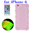 Professional Luminous Silicone phone case for iPhone 6