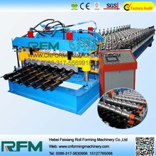 Good quality glazed tile and trapezoid steel tile manufacturing machine