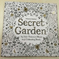 Secret Garden An Inky Treasure Hunt and relaxing Coloring Book for adults and children