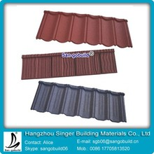 Stone Coated Roof Tiles/Aluminum tile roofing Material
