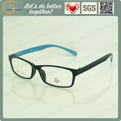 Double bridge glasses frame with memory optical frames