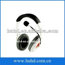 2012 fashion White gaming headphones Professional gaming headphones for X360 box/PS3