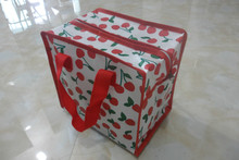 Fashion sweet style cherry cover cosmetic bag