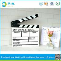 Movie Director Slate Clapper Clapboard wood clapboard siding