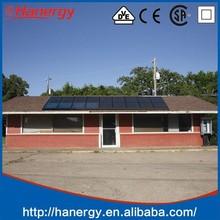 Hanergy 2kw photovoltaic storage system with price per watt solar panels