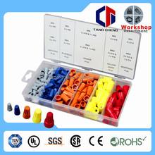 plastic wire end cap 158pc hardware Assorted kit plastic wire end cap