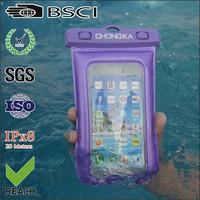 hot pvc waterproof cell phone bag/cell phone pvc waterproof bag for mobile