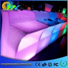 Events Decorative PE RGB Plastic Led Bar Counter / Led Light Bar / Lighted Bar Counter Top