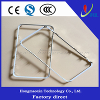 White Front Bezel Frame Outer Glass Lens,LCD Screen bezel Frame Button Replacement Kit for iPhone 6 4.7 inch