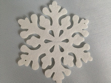 Machine cutting fabric felt christmas tree decoration with top quality-109