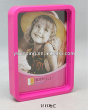 funny boat baby photo frame with clock for kids