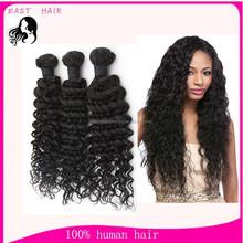 Brazilian virgin hair wholesale deep wave human hair extensions factory price
