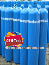 2014 New Medical Oxygen Cylinder with Cap,15MPa High Pressure Seamless Steel Oxygen Gas Cylinders