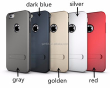 wholesale TPU+PC 3 in 1 hybrid kickstand phone slim armor case for iPhone 6 china supplier