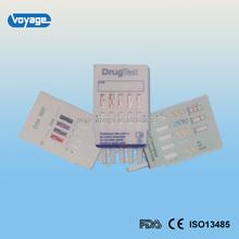 high quality over 99% sensitivity rapid instant drug test DOA-5 multi