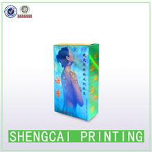 paper sex arab box customized printing