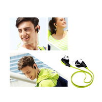 Wireless Stereo Sports Earphone Headset with Microphone Dual Standby for iPhone 6 6 Plus Xiaomi with bluetooth PA2240