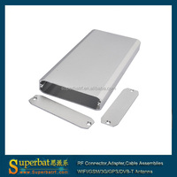 Silvery Color Electric Box Enclosure 13x52x110mm