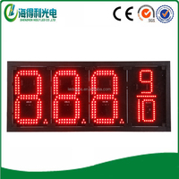 Environment high brightness gas price board