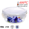 food container, Easylock glass food storage container with lid