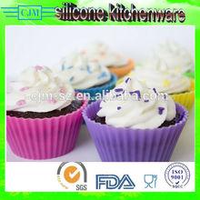 Silicona taza de bicarbonato, de silicona del molde para galletas, de silicona del molde para hornear