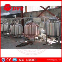 Stainless steel commercial beer brewing equipment for making beer
