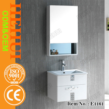 MT-X135 aluminum bathroom cabinet,antique chinese painting with double resin bathroom vanity,arts and crafts bathroom vanity