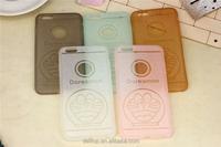 "Popular Glitter Cartoon Dorae Slim Ultra Thin Transparent Crystal Clear Soft TPU Case For Apple iPhone 6 4.7""/6 plus 5.5"""