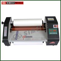 FM-B380 digital display temperature tabel top A3 hot cold roll laminator