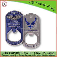 Custom quality novelty gift 35 X 63 MM AIR FORCE POST-MISSION OPENING TOOL TYPE 1 BOTTLE OPENER