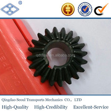 M2 Z20 Steel helical machined spur mini bevel gear