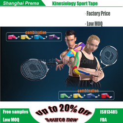Modern new products high quality therapy kinesiology tape Bottom price promotional superior customized elastic muscle ta